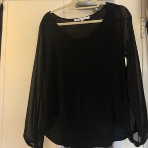 Black lovers and friends blouse